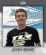 Josh Bend () Muchmore Racing Driver