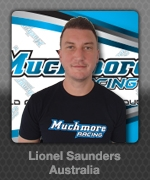 Lionel Saunders (Australia) Muchmore Racing Driver