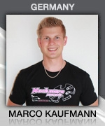 Marco Kaufmann (Germany) Muchmore Racing Driver