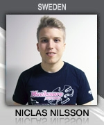 Niclas Nilsson (Sweden) Muchmore Racing Driver