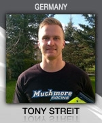 Tony Streit (GERMANY) Muchmore Racing Driver